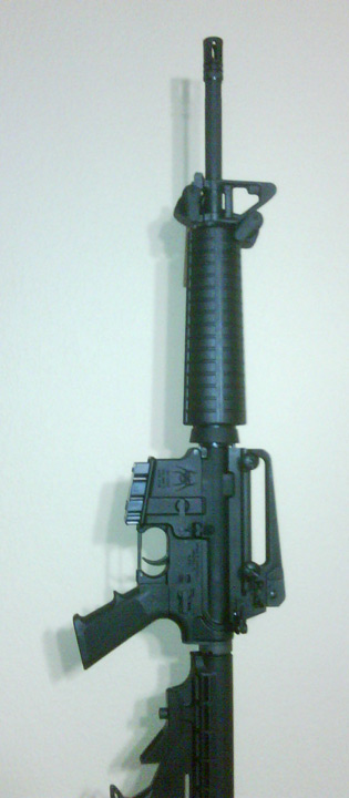 Wall-mounting an AR-15 - AR-15 Discussion
