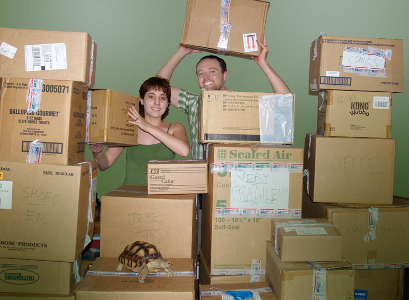 OMG HELP!!!, JESSE & CASSIE ARE MOVING!!!